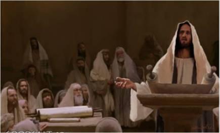 jesús sinagoga
